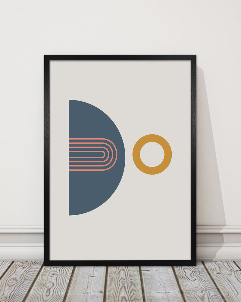 Mid Century Modern Prints on Grey B