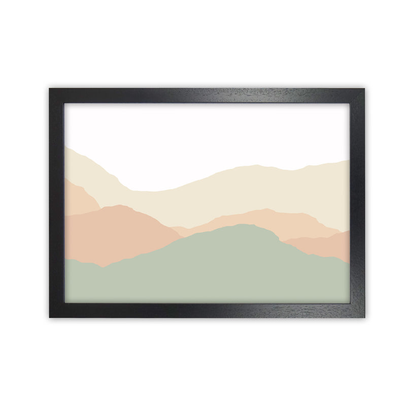 Abstract Landscape Light print