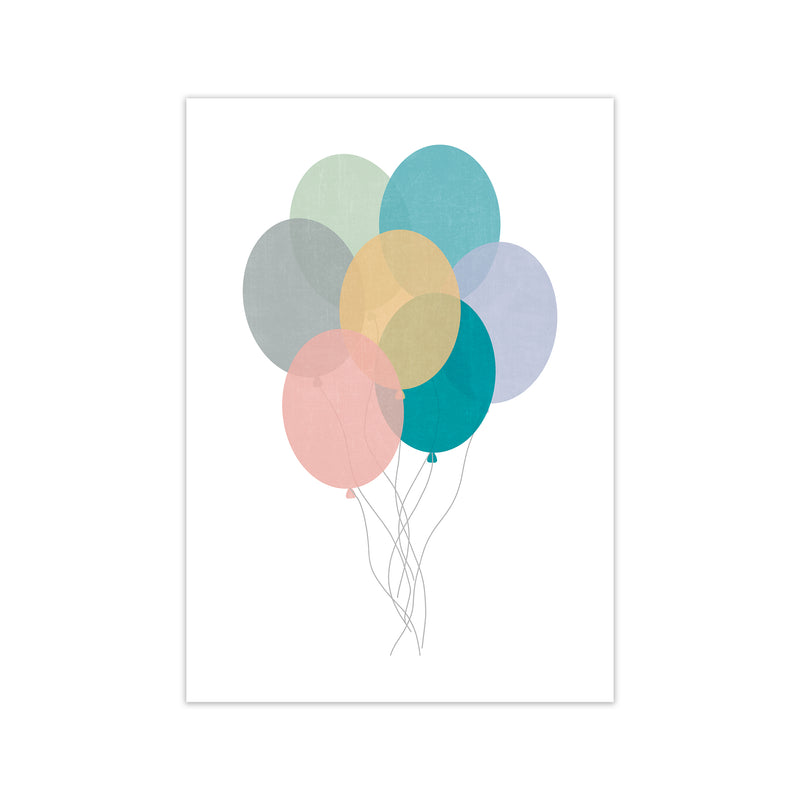 Nursery Collection Balloons A1 Print Only