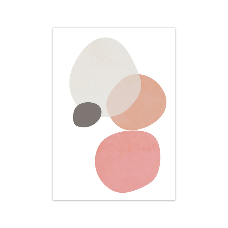 Pink and Grey Nursery Wall Art Print B A1 Print Only
