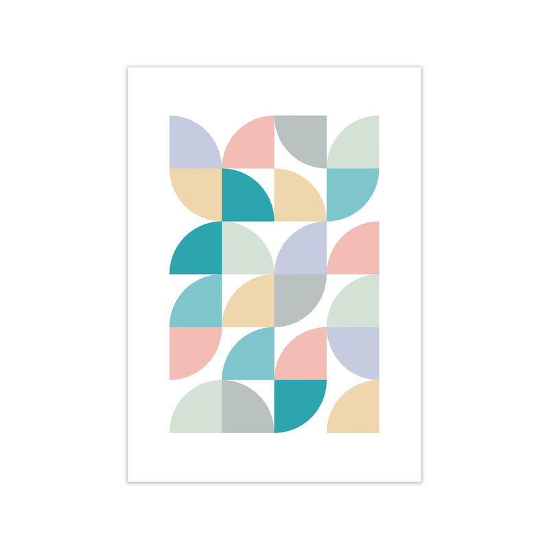 Abstract Pastel Nursery Print C A1 Print Only