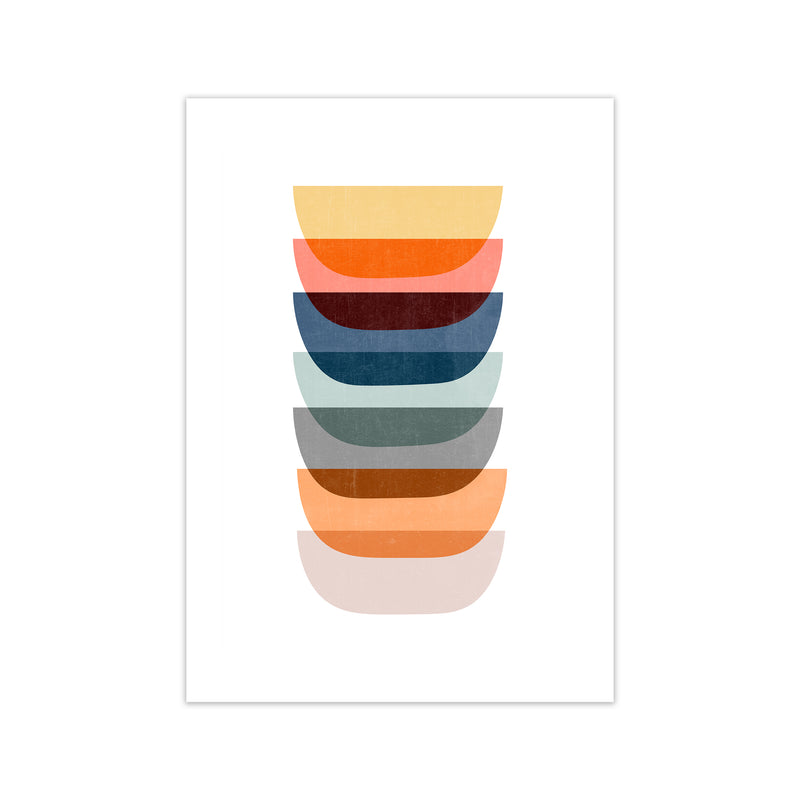 Abstract Mid Century Art C A1 Print Only