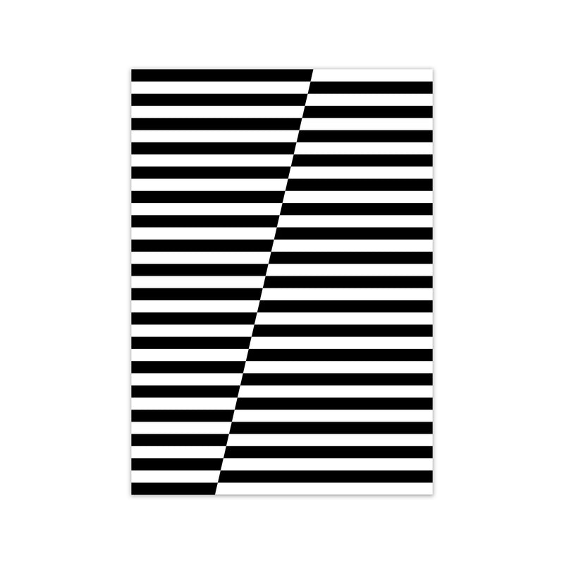 Black and White Stripe ALT A1 Print Only