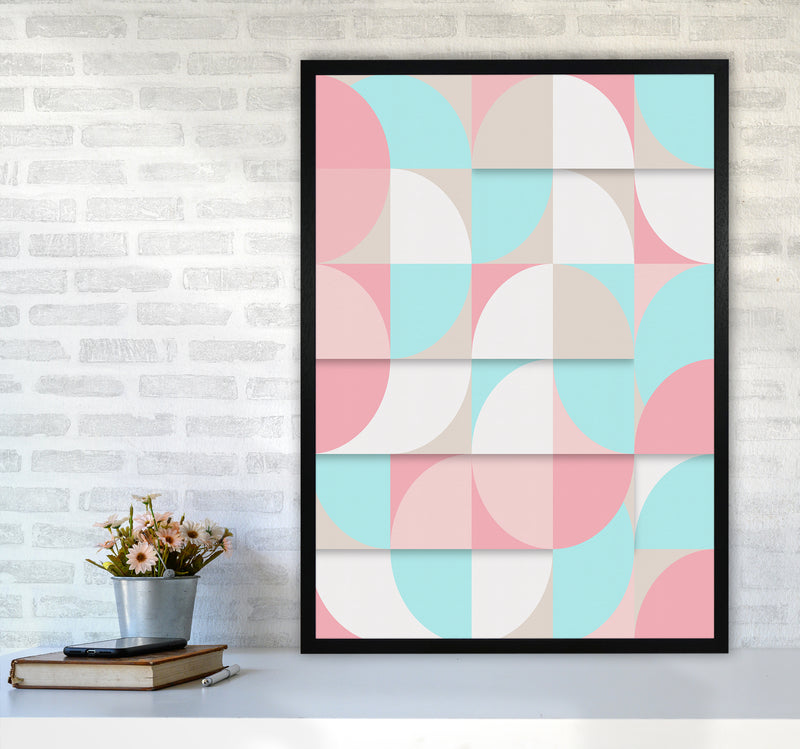 The Scandinavian Geometry Art Print by Seven Trees Design