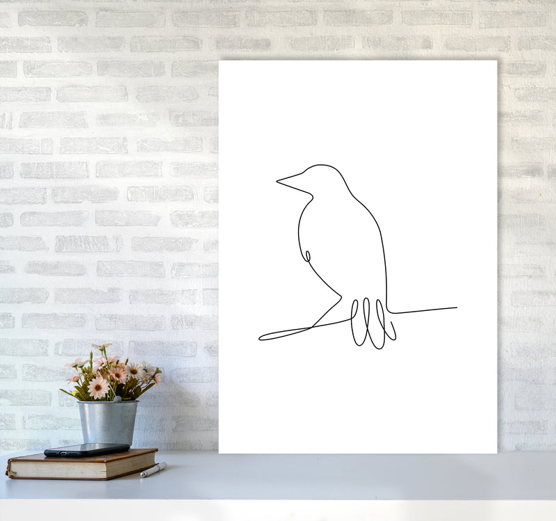 One Line Bird II A1 Print Only