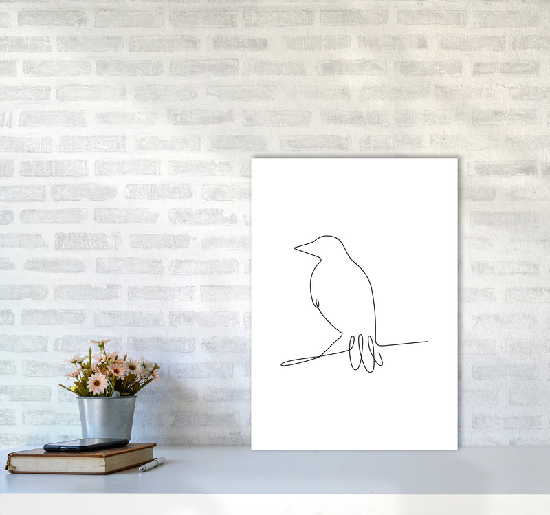 One Line Bird II A2 Print Only
