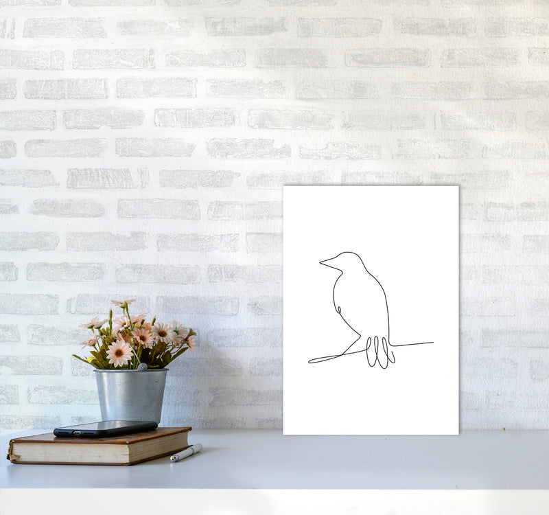 One Line Bird II A3 Print Only