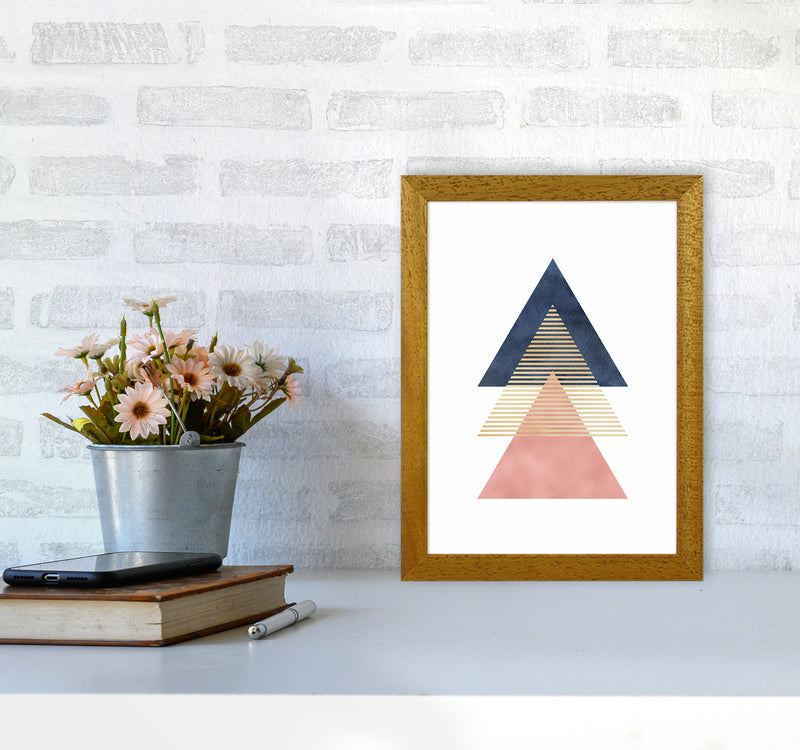 The Triangles Art Print by Seven Trees Design