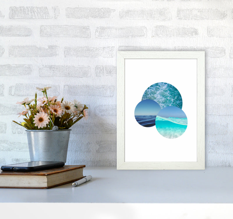 Ocean Planets Art Print by Seven Trees Design