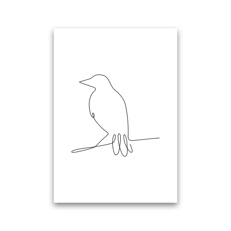 One Line Bird II Print Only
