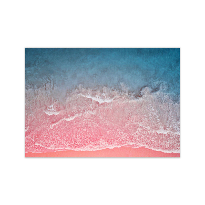 The Pink Ocean Print Only