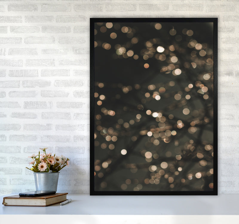 Midnight Glow Photography Print by Victoria Frost A1 White Frame