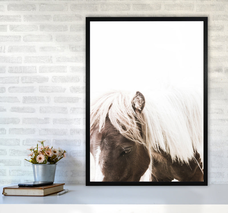 Horse III Photography Print by Victoria Frost A1 White Frame