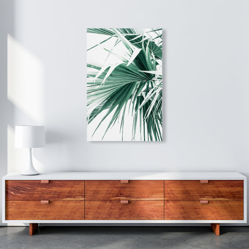 Palm Leaves Photography Print by Victoria Frost A1 Canvas