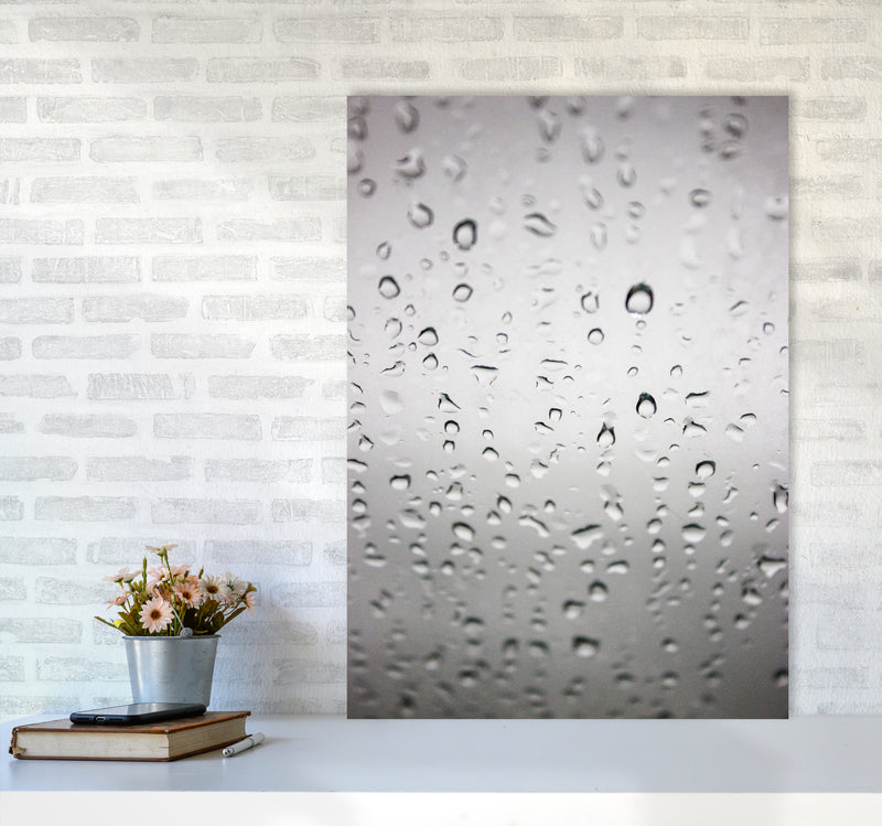 Touch of Rain Photography Print by Victoria Frost A1 Black Frame