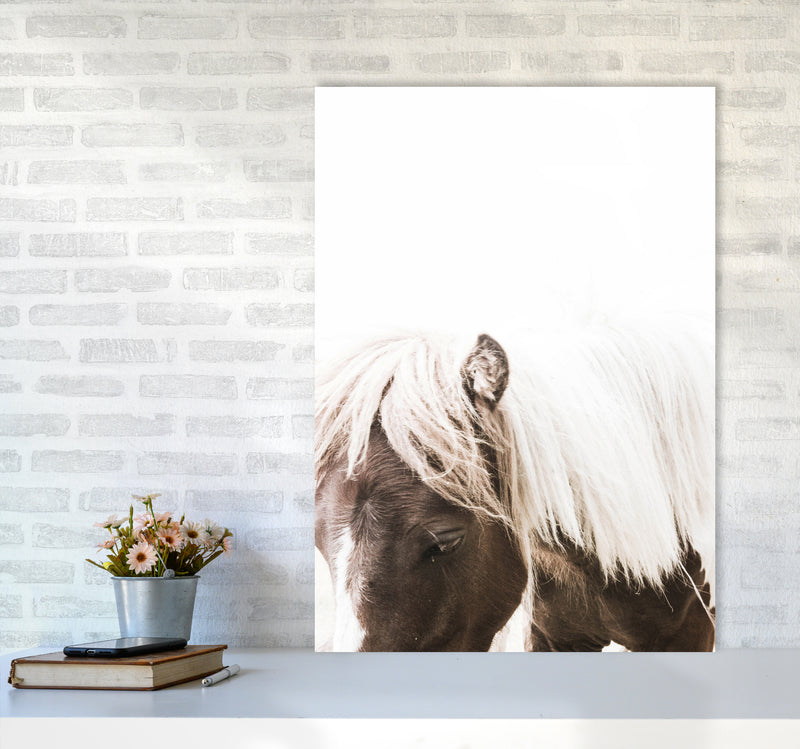 Horse III Photography Print by Victoria Frost A1 Black Frame