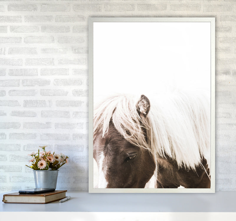 Horse III Photography Print by Victoria Frost A1 Oak Frame