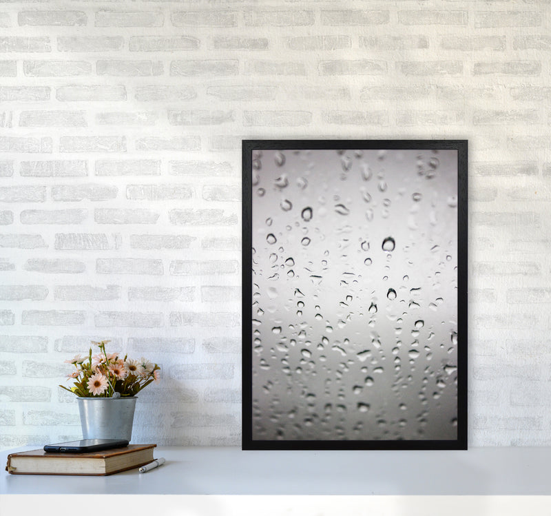 Touch of Rain Photography Print by Victoria Frost A2 White Frame
