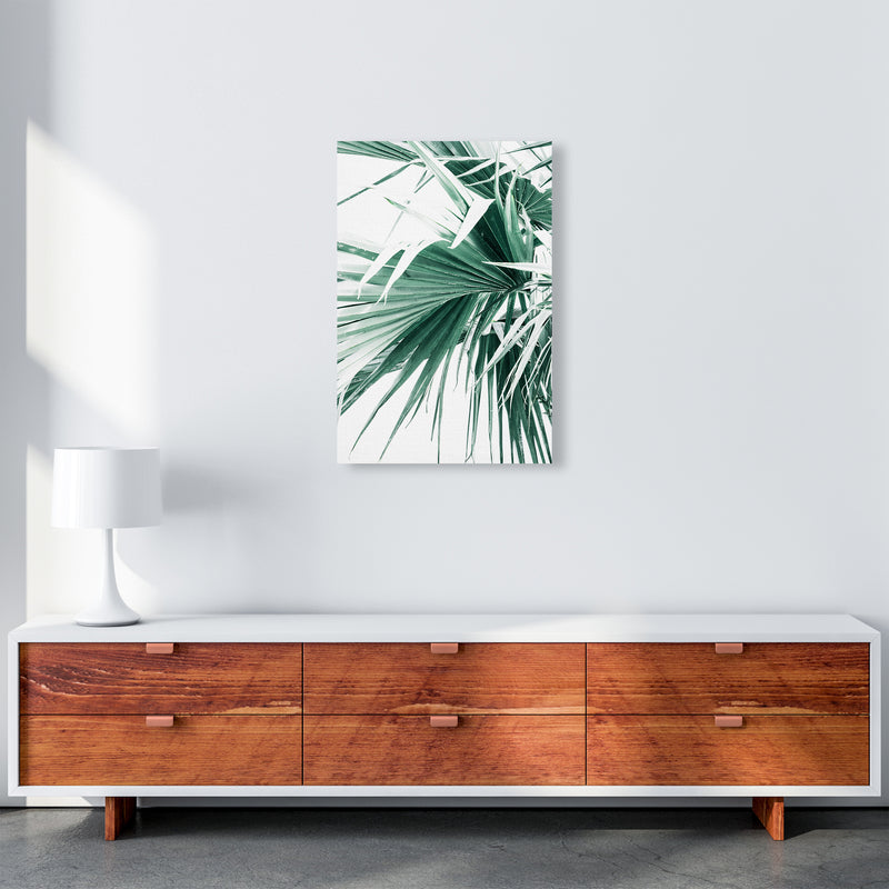 Palm Leaves Photography Print by Victoria Frost A2 Canvas