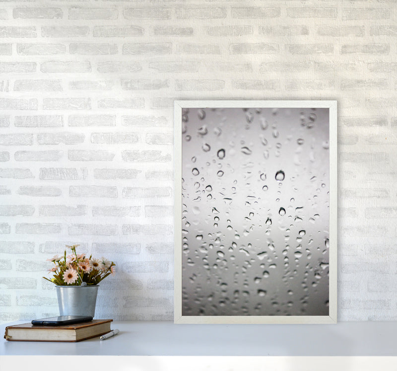 Touch of Rain Photography Print by Victoria Frost A2 Oak Frame
