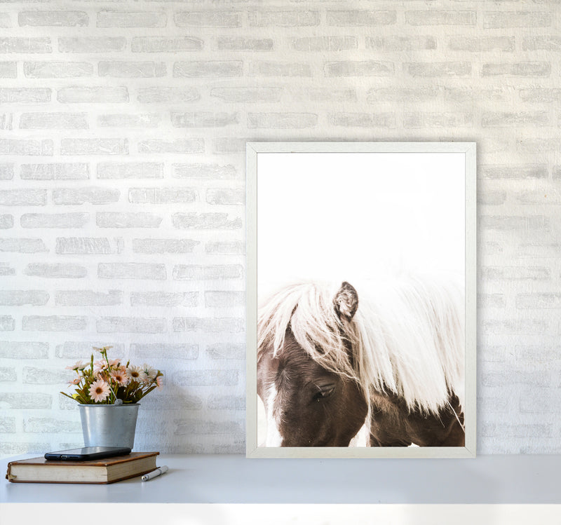 Horse III Photography Print by Victoria Frost A2 Oak Frame