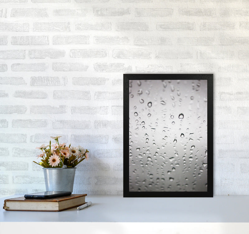 Touch of Rain Photography Print by Victoria Frost A3 White Frame