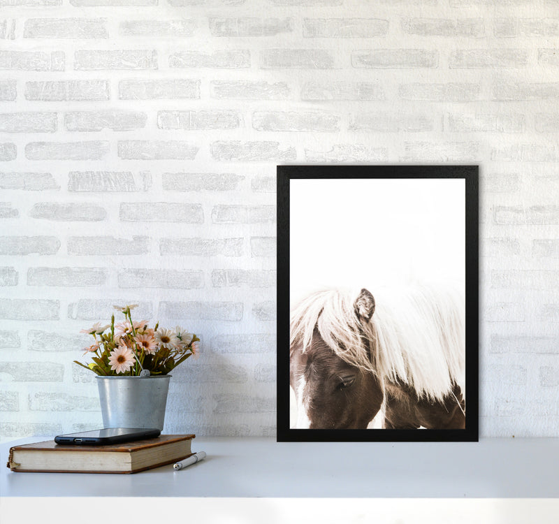 Horse III Photography Print by Victoria Frost A3 White Frame