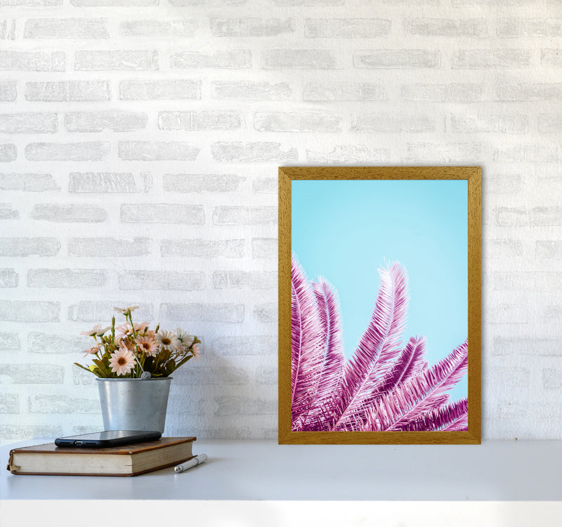 Pink Palm Trees Photography Print by Victoria Frost A3 Print Only