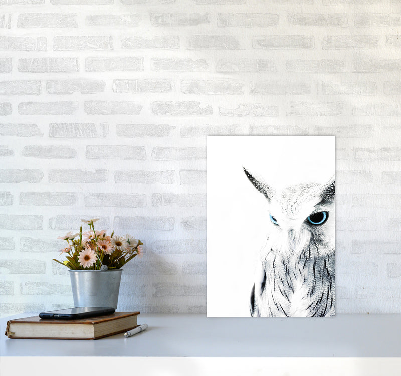 Owl I Photography Print by Victoria Frost A3 Black Frame