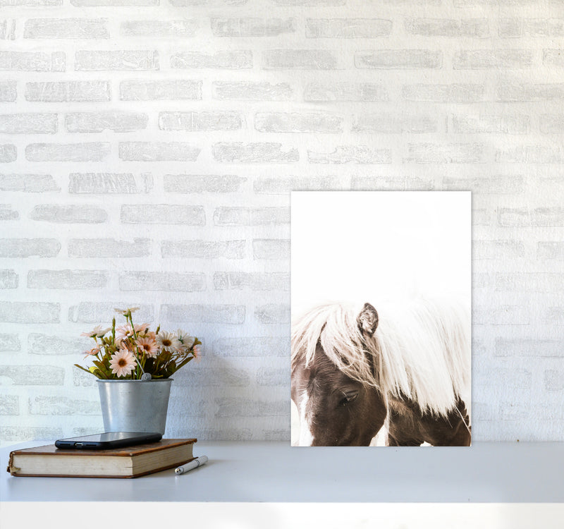 Horse III Photography Print by Victoria Frost A3 Black Frame