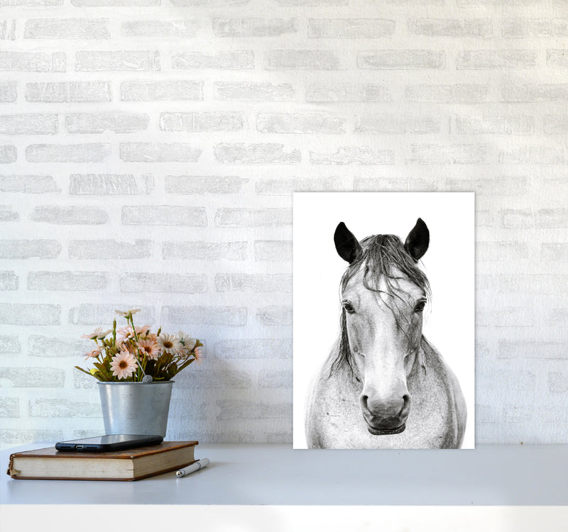 Horse I Photography Print by Victoria Frost A3 Black Frame