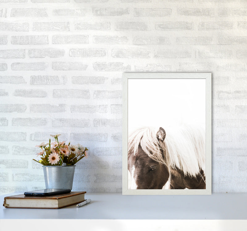Horse III Photography Print by Victoria Frost A3 Oak Frame