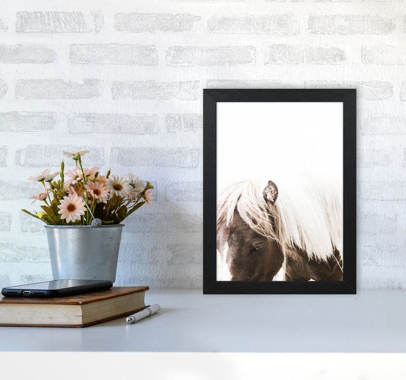 Horse III Photography Print by Victoria Frost A4 White Frame
