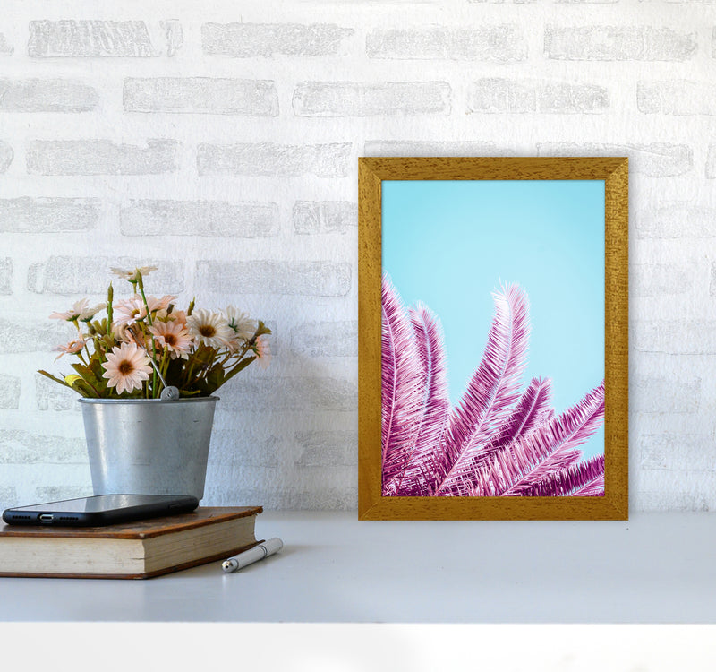 Pink Palm Trees Photography Print by Victoria Frost A4 Print Only