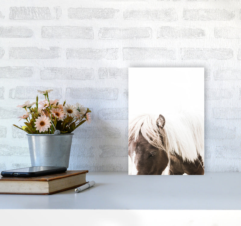 Horse III Photography Print by Victoria Frost A4 Black Frame