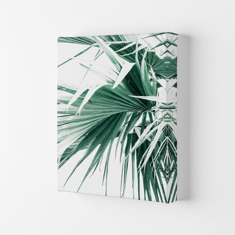 Palm Leaves Photography Print by Victoria Frost Canvas