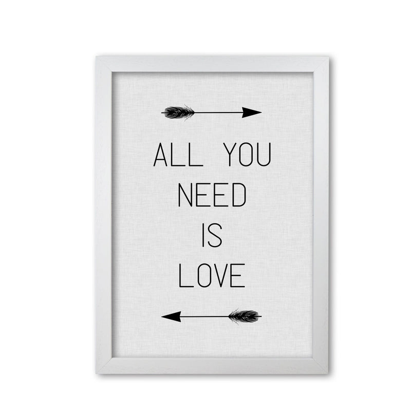All you need is love fine art print by orara studio