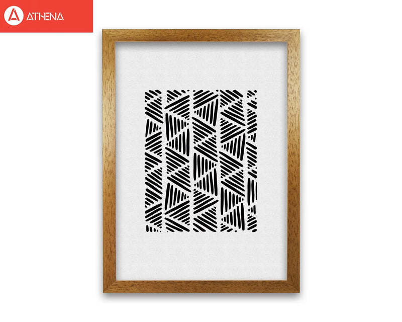 Black and white abstract i fine art print by orara studio