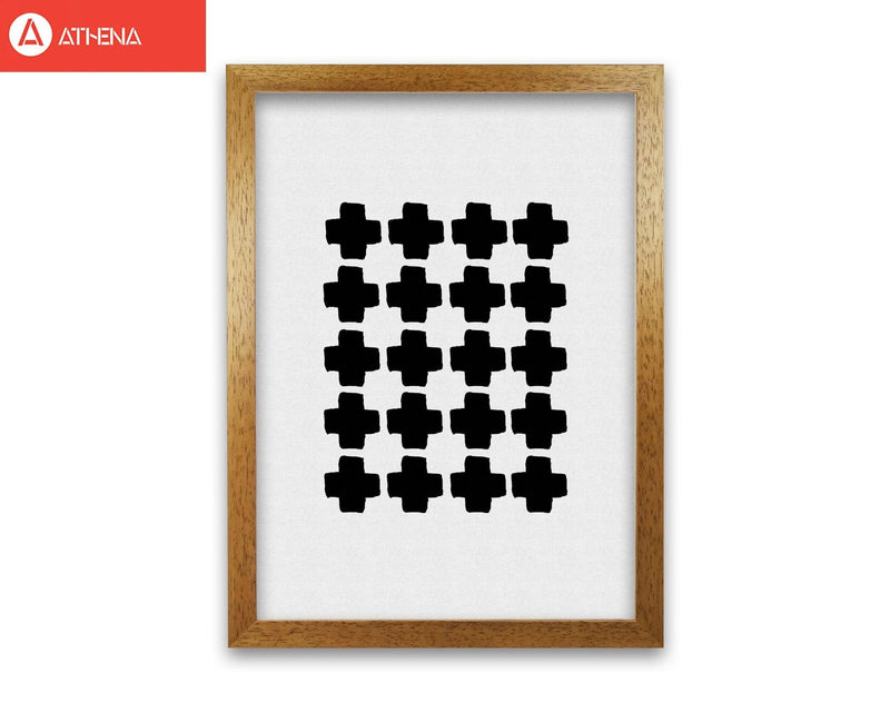 Black and white abstract iii fine art print by orara studio