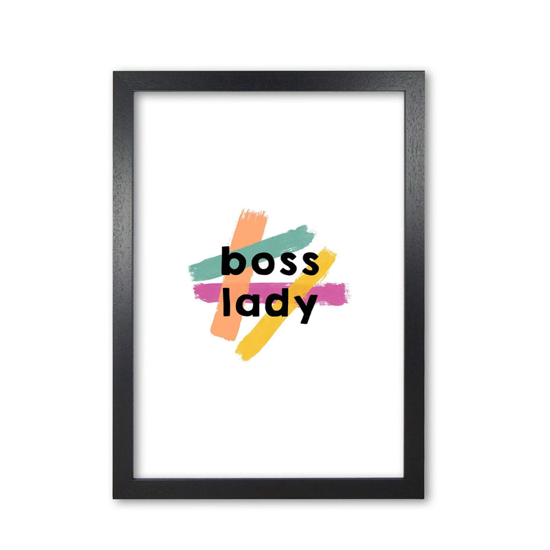 Boss lady fine art print by orara studio