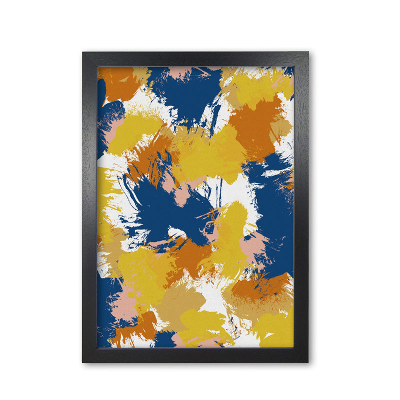 Colourful abstract i fine art print by orara studio