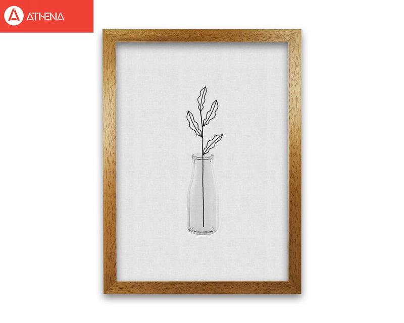 Leaf still life fine art print by orara studio, framed botanical &