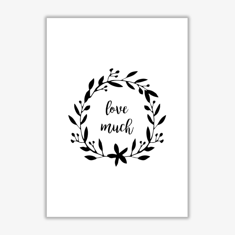 Love much illustration fine art print by orara studio