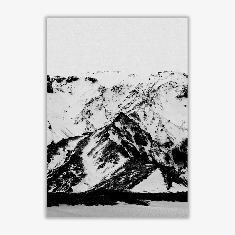 Minimalist mountains fine art print by orara studio, framed botanical &
