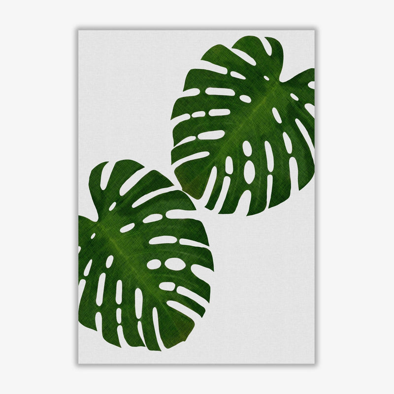 Monstera leaf ii fine art print by orara studio, framed botanical &