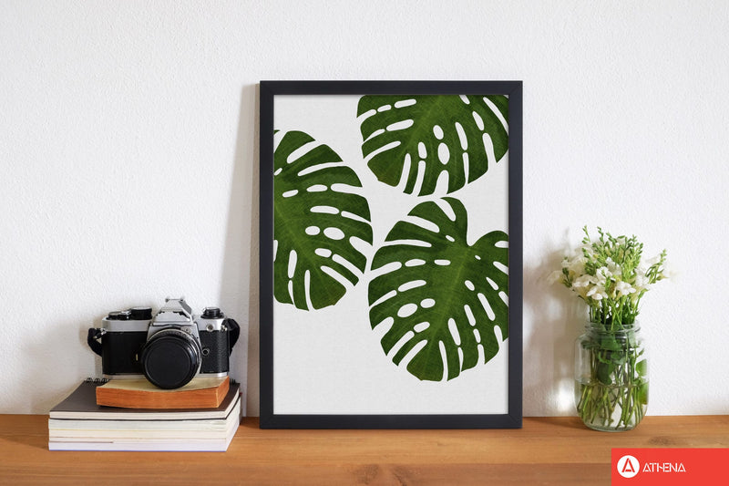 Monstera leaf iii fine art print by orara studio, framed botanical &