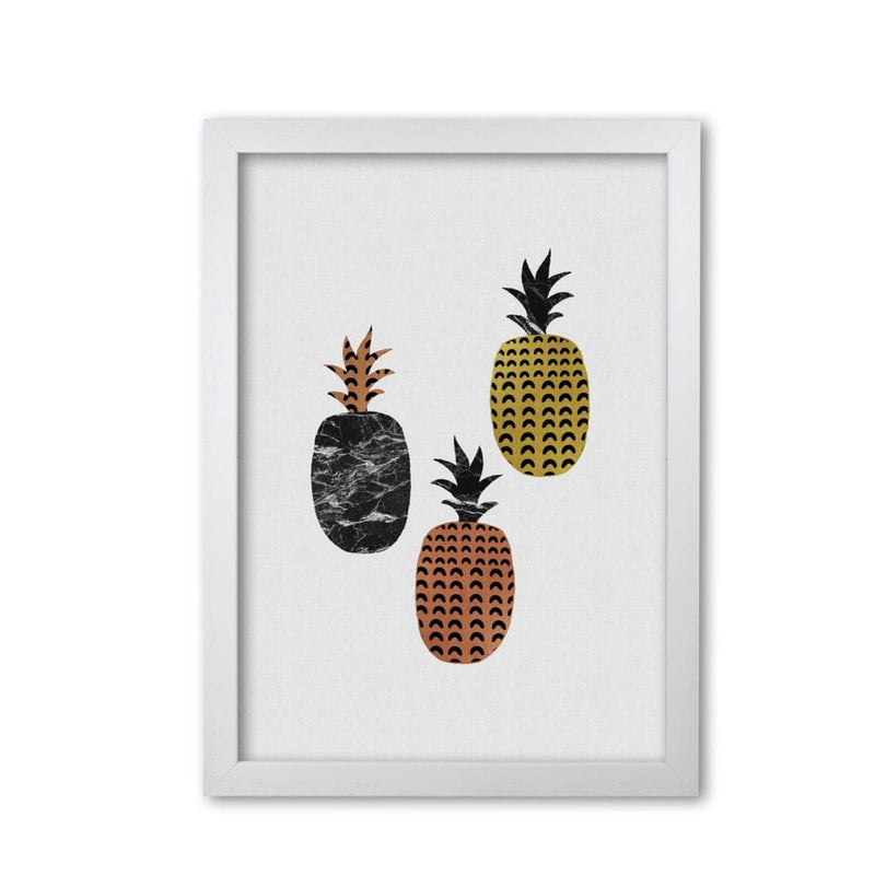 Pineapples fine art print by orara studio, framed kitchen wall art
