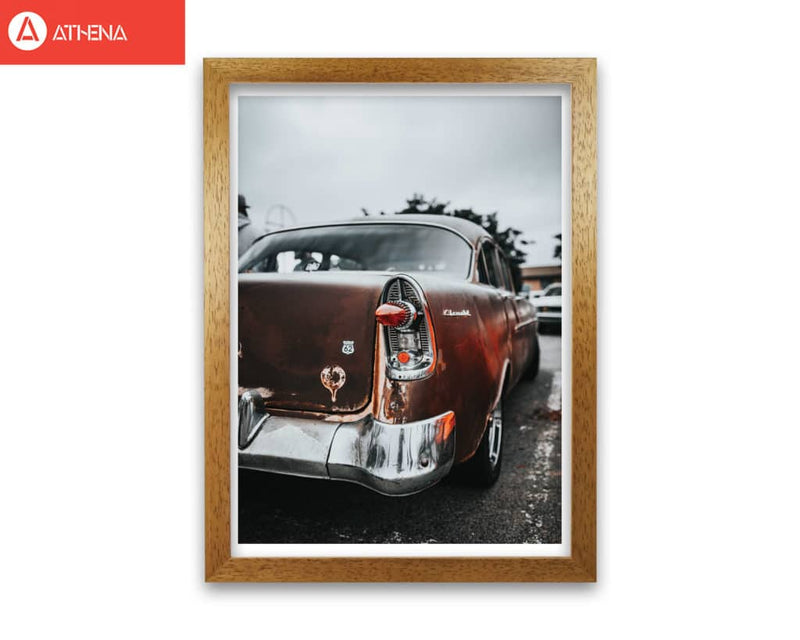 Retro car modern fine art print