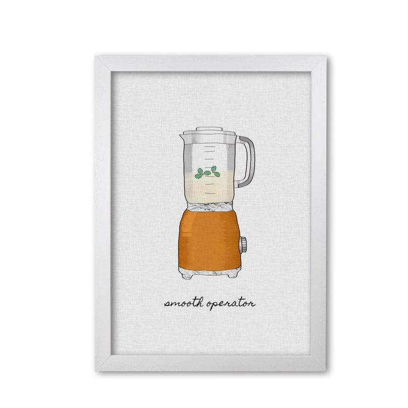 Smooth operator fine art print by orara studio, framed kitchen wall art