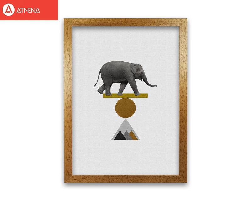 Tribal elephant fine art print by orara studio